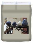 4 Birds Duvet Cover