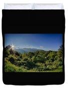 Blue Ridge Parkway National Park Sunset Scenic Mountains Summer  Duvet Cover