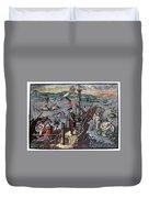 Christopher Columbus (1451-1506) Duvet Cover