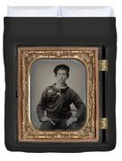 Civil War Sailor, C1863 Duvet Cover