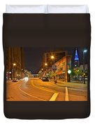 Cleveland Ohio Duvet Cover by Frozen in Time Fine Art Photography