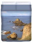 Cornwall - Land's End Duvet Cover