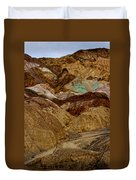 Death Valley Painted Rock Duvet Cover