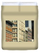 Denver City Scenes Duvet Cover