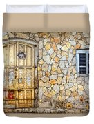 Doors Of Tel Aviv Duvet Cover
