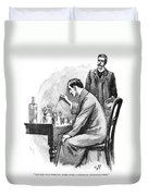 Doyle: Sherlock Holmes Duvet Cover