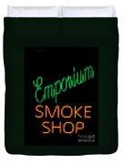 Emporium Smoke Shop Duvet Cover
