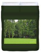 English Garden Munich Germany Duvet Cover