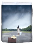 Farewell Duvet Cover by Joana Kruse