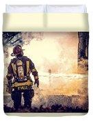 Firefighters Duvet Cover