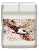 Fish Bait Duvet Cover