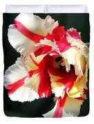 Flaming Parrot Tulip Duvet Cover