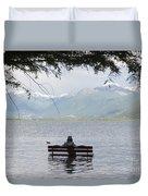 Flooding Lake Duvet Cover