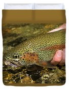 Fly Fishing Patagonia, Argentina Duvet Cover