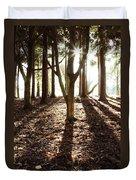 Forest Sunlight Duvet Cover