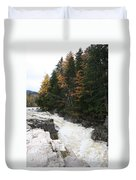 Franconia Notch White Mountians Duvet Cover