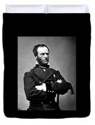 General William Tecumseh Sherman Duvet Cover by War Is Hell Store