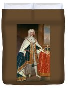 George II (1683-1760) Duvet Cover
