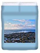 Giant's Causeway Coast Duvet Cover