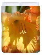 Gladiolus Named Halloween Duvet Cover