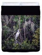 Heron Colors Duvet Cover