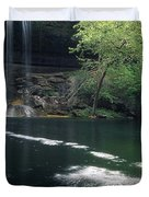 Hamilton Pool Nature Preserve Duvet Cover