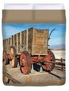 Harmony Borax Works Death Valley National Park Duvet Cover