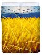 Homage To Van Gogh Duvet Cover