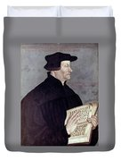 Huldreich Zwingli (1484-1531) Duvet Cover