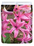 Hyacinth Named Pink Pearl Duvet Cover