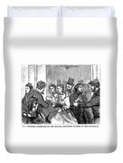 Johnson Impeachment, 1868 Duvet Cover