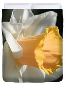 Large-cupped Daffodil Named Mrs. R.o. Backhouse Duvet Cover
