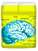 Learn About Your Brain Duvet Cover