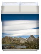 Lenticular Clouds Duvet Cover
