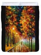 Light Of Autumn Duvet Cover