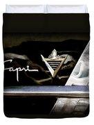 Lincoln Capri Emblem Duvet Cover