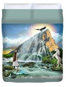 Living Waters Duvet Cover