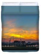 Harbor Lowcountry Sunset Duvet Cover