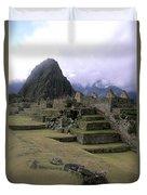 Machu Picchu Peru Duvet Cover