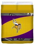 Minnesota Vikings Duvet Cover