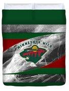 Minnesota Wild Duvet Cover