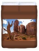 Monument Valley - Arizona Duvet Cover