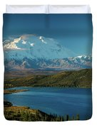 Mount Denali, Previously Known Duvet Cover