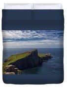 Neist Point Lighthouse Duvet Cover