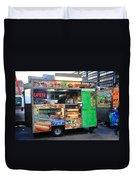 New York Street Vendor Duvet Cover