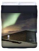 Northern Lights Iceland Duvet Cover