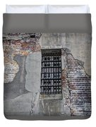 Vintage Jail Window Duvet Cover