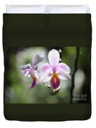 Orchids Dance Duvet Cover