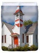 Oysterville Church Duvet Cover