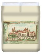 Pan-american Exposition Duvet Cover